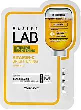 Fragrances, Perfumes, Cosmetics Vitamin C Face Sheet Mask - Tony Moly Master Lab Vitamin C Mask