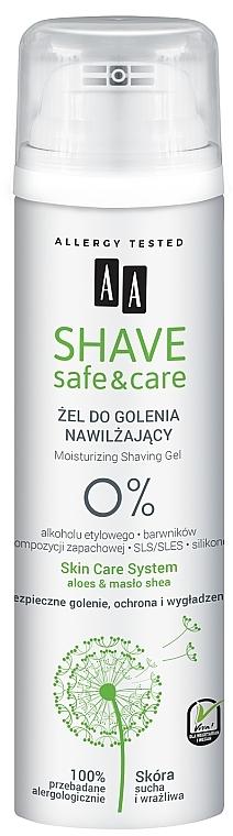 Shaving Gel - AA Shave Safe&Care