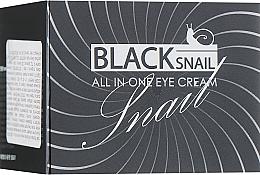 Fragrances, Perfumes, Cosmetics Black Snail Mucin Eye Cream - FarmStay All-In-One Black Snail Eye Cream
