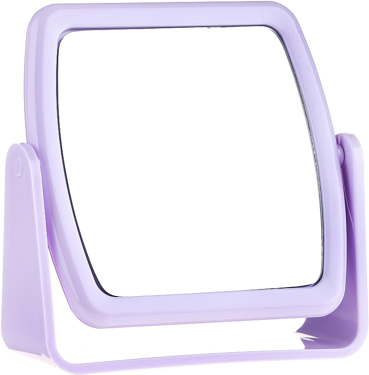 Stand Mirror 85727, square, lilac - Top Choice Beauty Collection Mirror