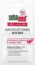 Fragrances, Perfumes, Cosmetics Anti-Aging Face Mask - Sebamed Anti-Ageing Q10 Hyaluron Face Mask