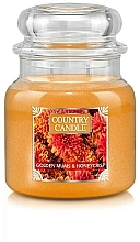 Fragrances, Perfumes, Cosmetics Scented Candle in Jar - Country Candle Golden Mums & Honeycrisp