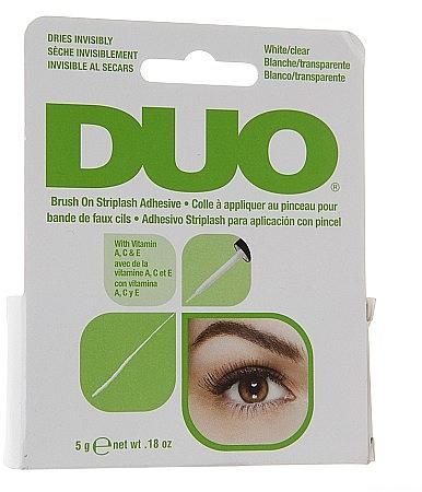 Eyelash Adhesive with Vitamins - Duo Brush-On Lash Adhesive