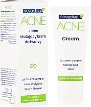 Fragrances, Perfumes, Cosmetics Matte Face Cream - Novaclear Acne Cream
