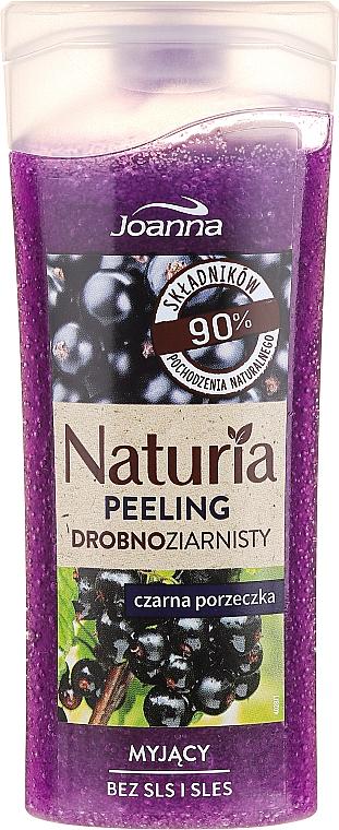 """Fine-Grained Shower Peeling """"Black Currant"""" - Joanna Naturia Peeling"""