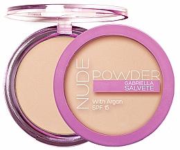 Fragrances, Perfumes, Cosmetics Face Powder - Gabriella Salvete Nude Powder SPF15