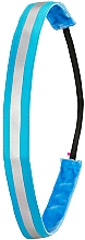 Fragrances, Perfumes, Cosmetics Hair Band, neon blue - Ivybands Neon Blue Reflective Hair Band