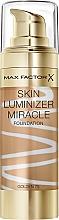Fragrances, Perfumes, Cosmetics Foundation - Max Factor Skin Luminizer Miracle Foundation