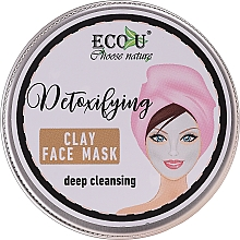 Fragrances, Perfumes, Cosmetics Deep Cleansing Face Mask - Eco U Detoxifying Deep Cleansing Clay Face Mask