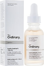 Fragrances, Perfumes, Cosmetics Lactic Acid Peeling - The Ordinary Lactic Acid 10% + HA 2%