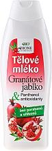 Fragrances, Perfumes, Cosmetics Body Milk - Bione Cosmetics Pomegranate Body Milk With Antioxidants