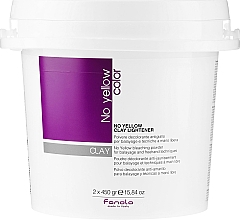 Fragrances, Perfumes, Cosmetics Lightening Hair Paste - Fanola No Yellow Clay Lightner