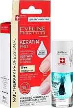 Fragrances, Perfumes, Cosmetics Nail Conditioner - Eveline Cosmetics Nail Therapy Professional Keratin Pro