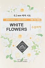 Fragrances, Perfumes, Cosmetics White Flowers Facial Sheet Mask - Etude House 0.2 Therapy Air Mask No.White Flowers
