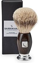 Fragrances, Perfumes, Cosmetics Shaving Brush - Barberians. Shaving Brush Silver Tip