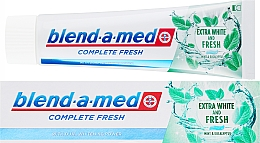 Fragrances, Perfumes, Cosmetics Toothpaste - Blend-a-med Complete Fresh Extra White & Fresh