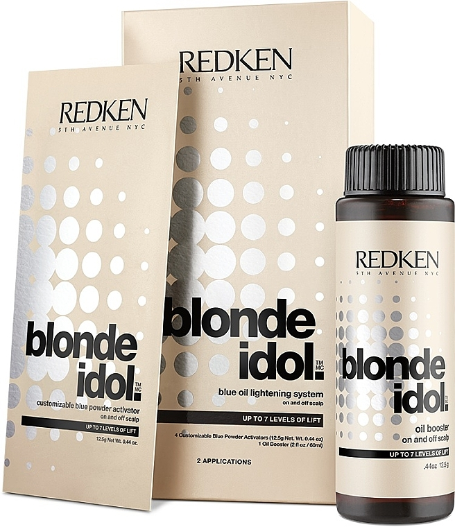 Blue Oil Lightening Systems - Redken Blonde Idol Blue Oil Lightening Systems