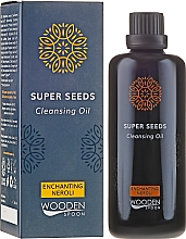 Fragrances, Perfumes, Cosmetics Face Cleansing Oil - Wooden Spoon Super Seeds Enchanting Neroli Cleansing Oil