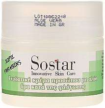 Fragrances, Perfumes, Cosmetics Aloe Vera Moisturizing Face Cream - Sostar Moisturizing Face Cream With Aloe Vera
