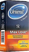 Fragrances, Perfumes, Cosmetics Condoms, 12 pcs - Unimil Max Love