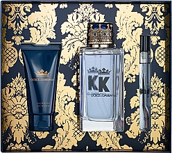 Fragrances, Perfumes, Cosmetics Dolce&Gabbana K by Dolce&Gabbana - Set (edt/100ml + sh/gel/50ml + edt/mini/10ml)