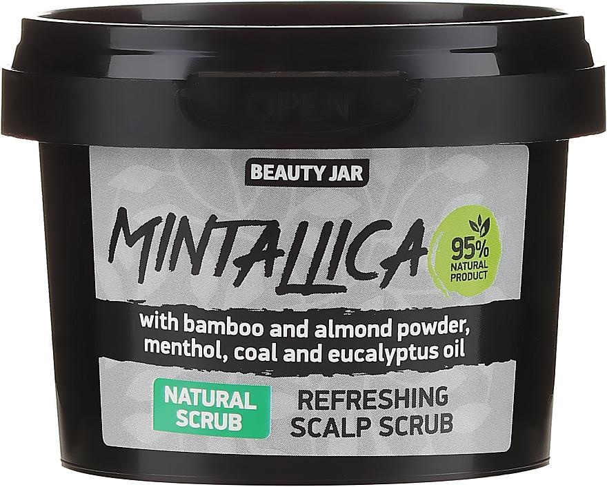 Refreshing Scalp Scrub - Beauty Jar Mintallica Refreshing Scalp Scrub