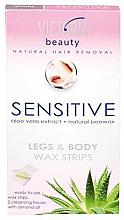 Fragrances, Perfumes, Cosmetics Body & Legs Depilatory Strips - Victoria Beauty Sensitive Legs & Body Waxing Strips