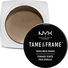Fragrances, Perfumes, Cosmetics Brow Pomade - NYX Professional Makeup Tame & Frame Brow Pomade