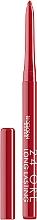 Fragrances, Perfumes, Cosmetics Cosmetic Lip Pencil - Deborah 24 ORE Long Lasting Lip Pencil