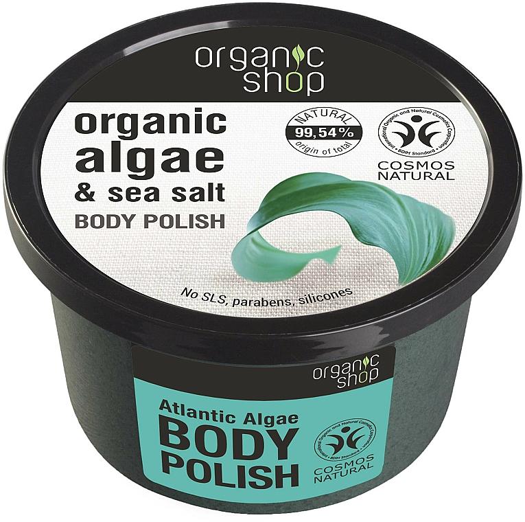 """Body Scrub """"Algae & Sea Salt"""" - Organic Shop Body Scrub Organic Algae & Sea Salt"""