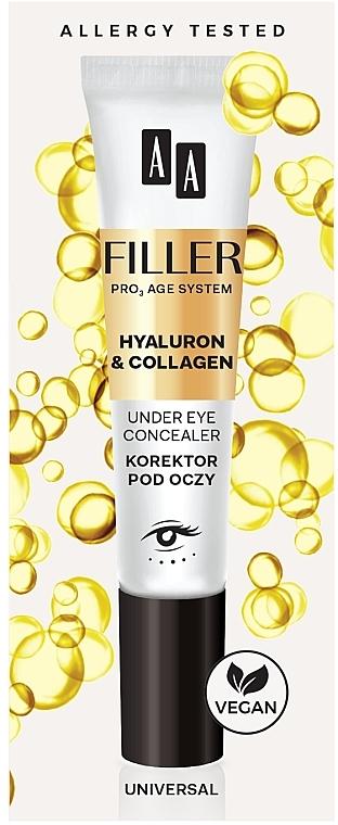 Eye Concealer - AA Filler Under Eye Concealer