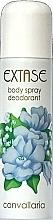 Fragrances, Perfumes, Cosmetics Deodorant - Extase Convalia Deodorant