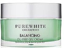 Fragrances, Perfumes, Cosmetics Facial Gel Cream - Pure White Cosmetics Balancing Oil-Free Gel Cream