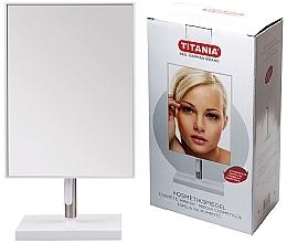 Fragrances, Perfumes, Cosmetics Table Mirror, 16x30 cm, metal stand - Titania