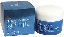 Fragrances, Perfumes, Cosmetics Whitening Sleeping Face Mask - Mizon Good Night White Sleeping Mask