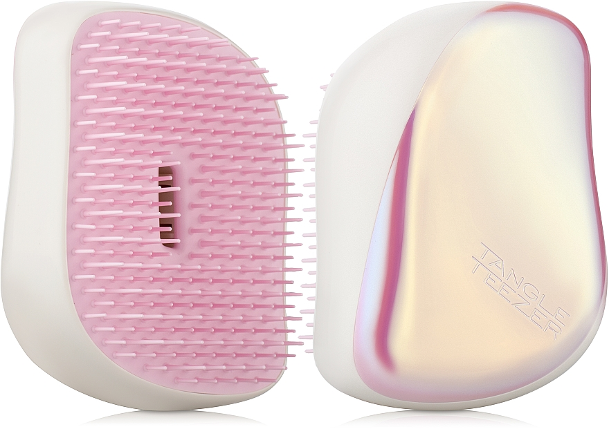 Compact Hair Brush - Tangle Teezer Compact Styler Smooth and Shine