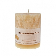 Fragrances, Perfumes, Cosmetics Scented Candle - The Secret Soap Store SPA Aromatherapy Candle Chocolate With Bitter Orange