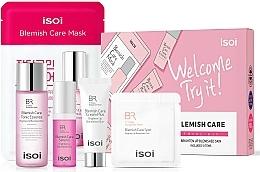 Fragrances, Perfumes, Cosmetics Set - Isoi Bulgarian Rose Blemish Care Trial Kit (ser/5ml + f/cr/3*1ml + f/ton/30ml + f/mask/20ml +cr/7ml)