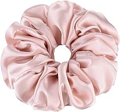 Fragrances, Perfumes, Cosmetics Largy Natural Silk Elastic Hair Band, powder - Makeup Largy Scrunchie Powder