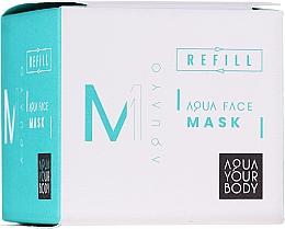 Fragrances, Perfumes, Cosmetics Moisturizing Face Mask - AQUAYO Aqua Face Mask (refill)