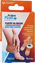 Fragrances, Perfumes, Cosmetics Corn-Cure Plasters with Salicylic Acid - Ntrade Active Plast Special Corn-Cure Plasters