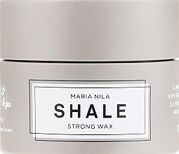 Fragrances, Perfumes, Cosmetics Short Hair Styling Wax - Maria Nila Shale Strong Wax