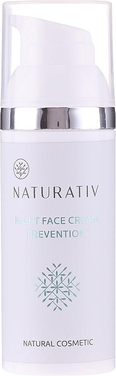 Night Face Cream - Naturativ Facial Night Cream 30+