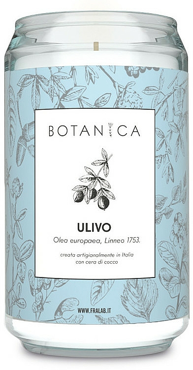 """Scented Candle """"Olive"""" - FraLab Botanica Ulivo Candle — photo N1"""