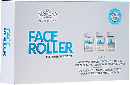 Fragrances, Perfumes, Cosmetics Anti-Aging Concentrate - Farmona Professional Face Roller Active Anti-Ageing Concentrate