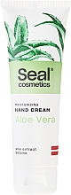 Fragrances, Perfumes, Cosmetics Moisturizing Hand Cream with Aloe Vera - Seal Cosmetics Moisturizing Hand Cream