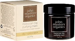 Fragrances, Perfumes, Cosmetics Cleansing Face Mask - John Masters Organics Moroccan Clay Purifying Mask