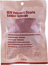 Fragrances, Perfumes, Cosmetics Volcanic Scoria Konjac Sponge - Purito Jeju Volcanic Scoria Konjac Sponge