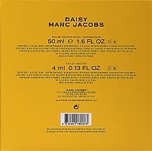 Marc Jacobs Daisy - Set (edt/50ml + edt/4ml) — photo N2