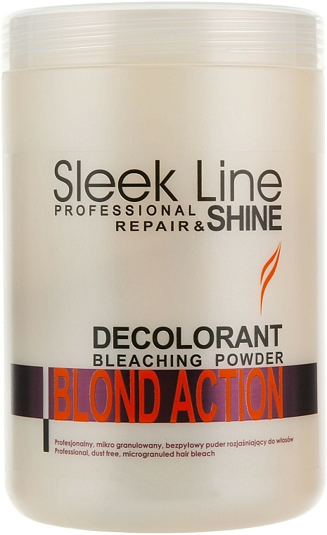 Lightening Hair Powder - Stapiz Sleek Line Repair & Shine Blond Action